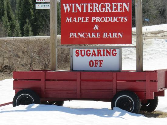 Wintergreen Maple Syrup and Pancake Barn : The maple sap is flowing!