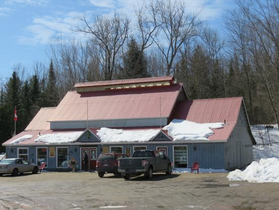 Wintergreen Maple Syrup and Pancake Barn : 3325 Gelert Rd - Look for the red roof