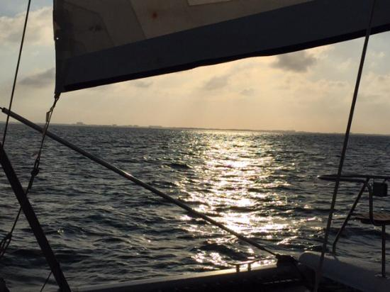 Cayman Private Charters: Sailing Home into the Sunset!