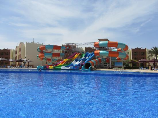 New Slides Heated Pool Picture Of Sunrise Select Royal