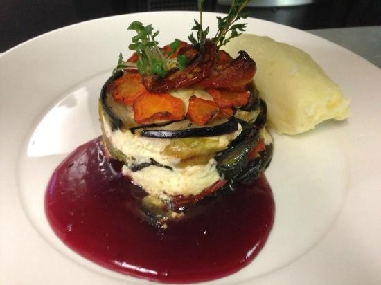 The Hart of Harwell: VEGETARIAN ROASTED VEGETABLE GATEAUX