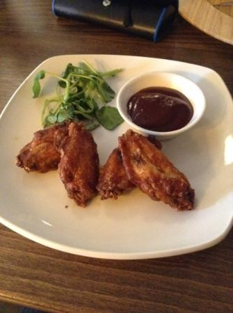 Hotel Ryde Castle: £4.99 chicken wings