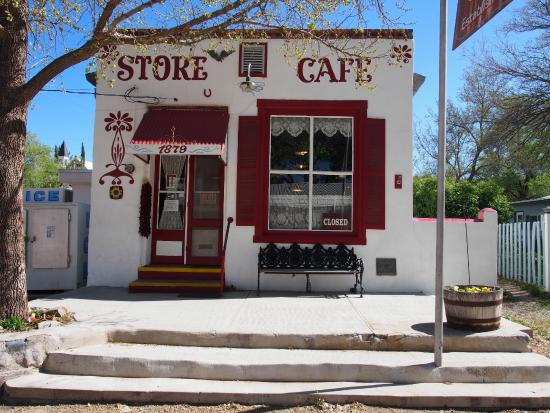 Hillsboro, NM: Cafe and General Store, not a groceries!