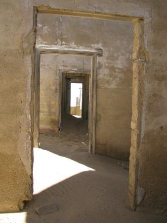 Luderitz, Namibia: внутри дома