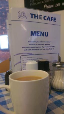 The Cafe: A nice mug of tea