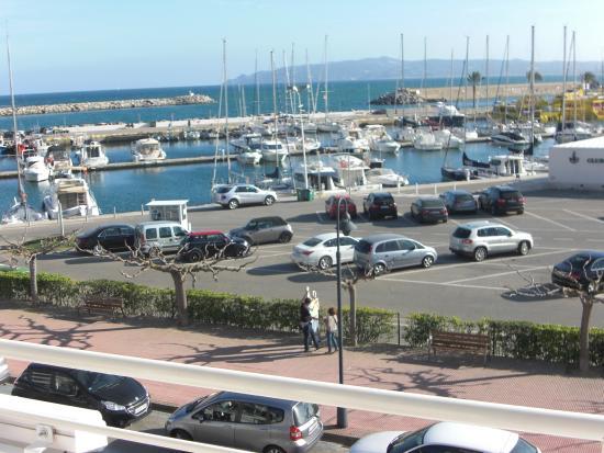 Hostal Santa Clara : Vista desde terraza habitación
