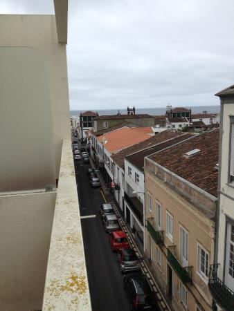 Residencial Sete Cidades: Ocean view - it would have been better on a sunny day