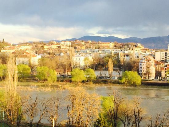 Grand Hotel Plovdiv: Window view