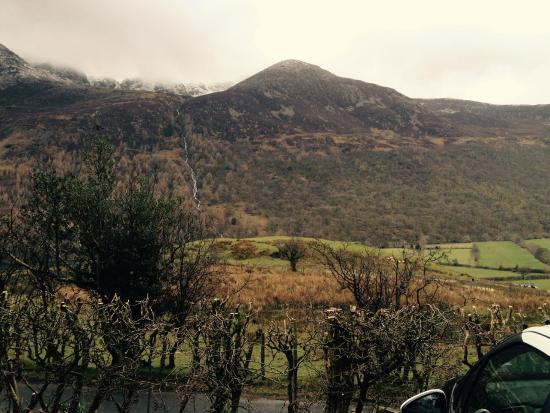 YHA Buttermere: View from the car Park
