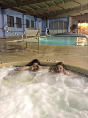 Comfort Inn Santa Rosa : Indoor pool and hot tub