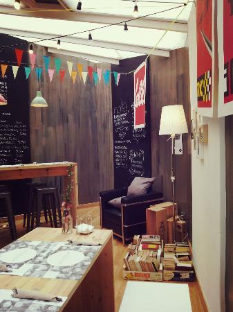 Comedor del patio interior: fotografía de SALAZOGUE Bistronomie ...