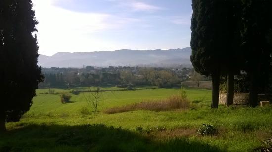Villa Spirito Santo: panorama