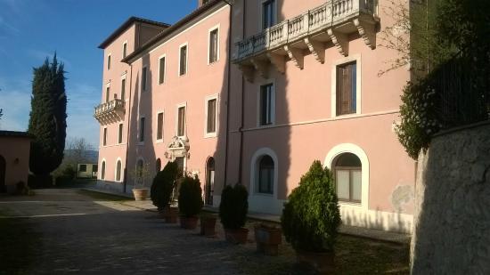Villa Spirito Santo: retro
