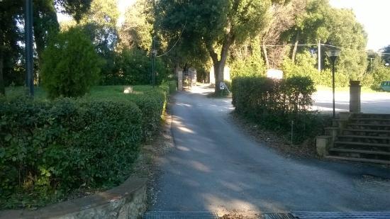 Villa Spirito Santo : giardino