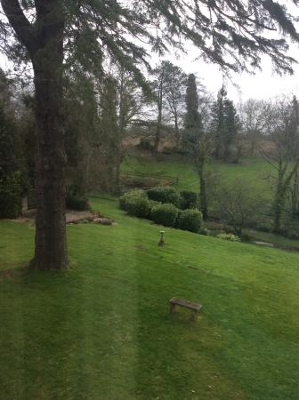 Holbrook House Hotel: View from our window.