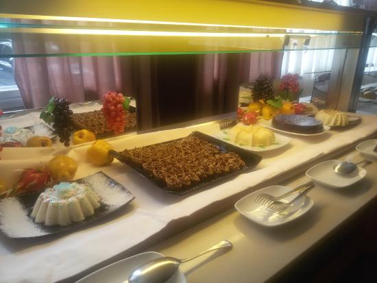 roseo euroterme wellness resort buffet dolci