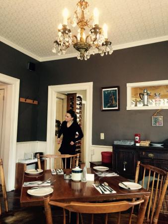 Sweet Pea's Restaurant: One of the multiple dining rooms
