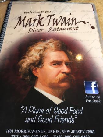 Mark TWAIN Diner Restaurant: Menu