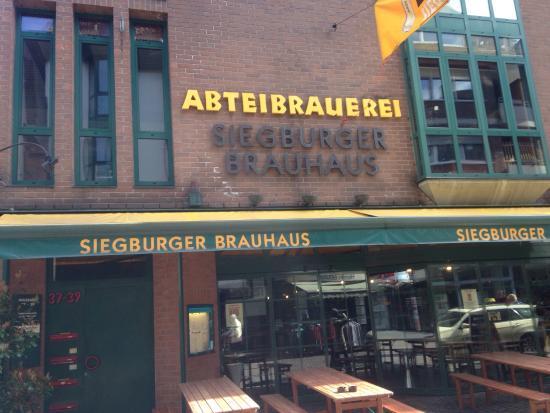 siegburger brauhaus siegburg restaurantbeoordelingen tripadvisor. Black Bedroom Furniture Sets. Home Design Ideas