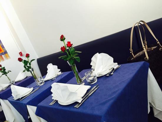 Gurkha: Love The Table Settings... Roses, Table Cloth, Serviettes