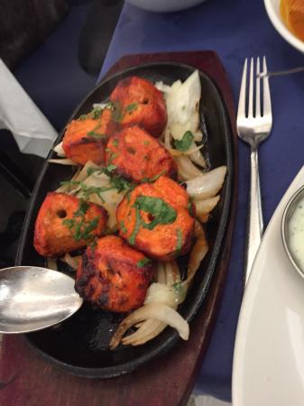 Gurkha: The Flavour of the chicken tikka was amazing