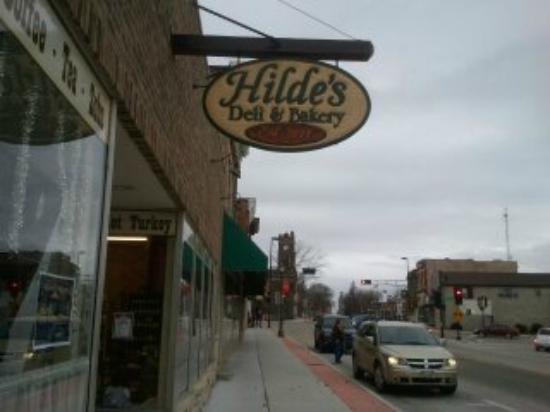 Chilton, WI: Outside Front of Hilde's Deli & Bakery