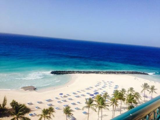 Saint Michael Parish, Barbados: Beach view from Executive level room on 8th floor