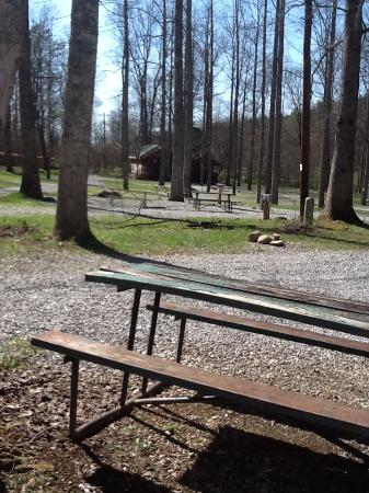 Adventure Bound Camping Resort - Gatlinburg : After debris clean up