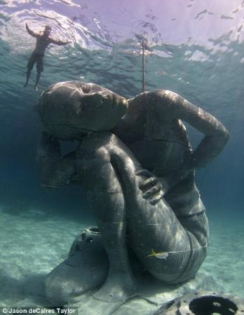 Clifton Heritage National Park: BREEF's Sir Nicholas Nuttall's Coral Reef Sculpture Garden