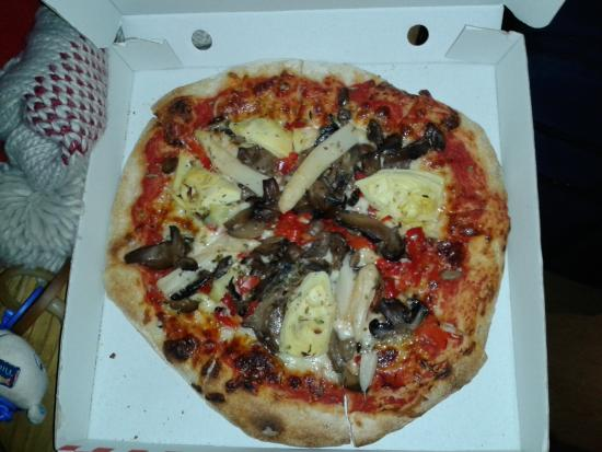 Pizzeria O Baleo: pizza vegetal
