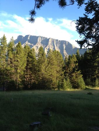 Tunnel Mountain Village 1 Campground: View from Site C52