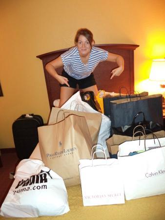 Rosen Inn International : Shopping in Florida was mint!