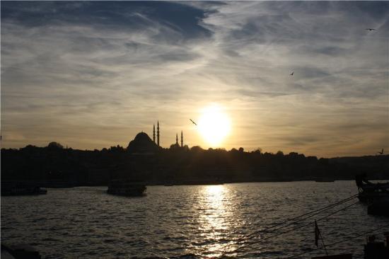 Dongyang Hotel Istanbul: вид с Галаатского моста