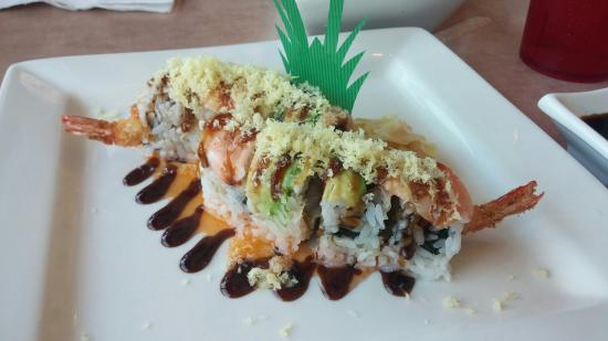 Kimono Japanese Restaurant and Sushi: Kamikaze Roll