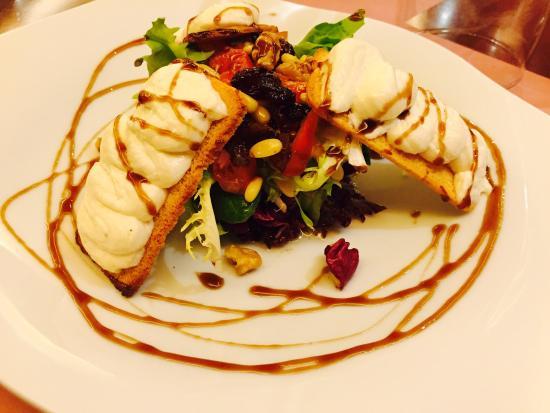 Salt cod brandade, excelent! - Picture of Restaurant Cal Nap, Caldes ...