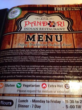 Pandori Indian Resturant