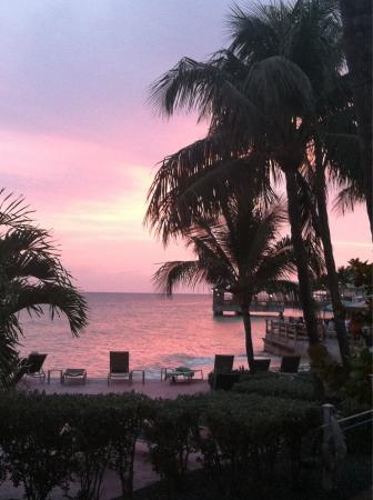 Coconut Beach Resort: Sunset
