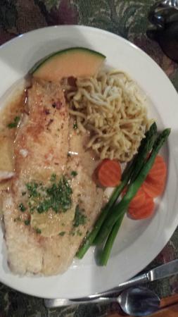 "Richard's Restaurant: ""Schellfisch ""Müllerin Art"" –  pan-fried haddock"