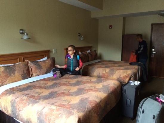 Irwin's Mountain Inn : 2 queen bed