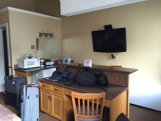 Irwin's Mountain Inn : Kitchenette