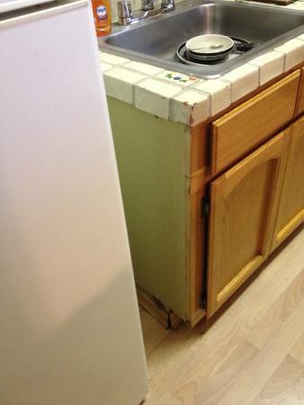 إل كوردوفا هوتل أون كورونادو أيلاند: filthy kitchen