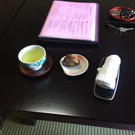 Matsusaki: 栗羊羹    美味だった