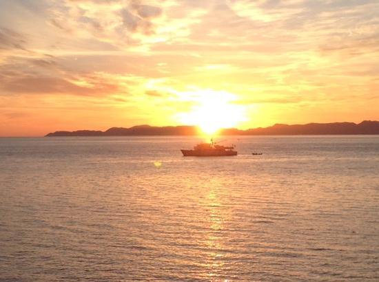 Posada de las Flores Loreto: Sunrise, Good Friday 2015