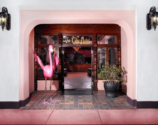 The Clay Hotel: Main Entrance