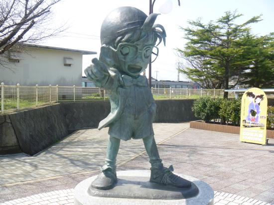 Conan Bronze Statue
