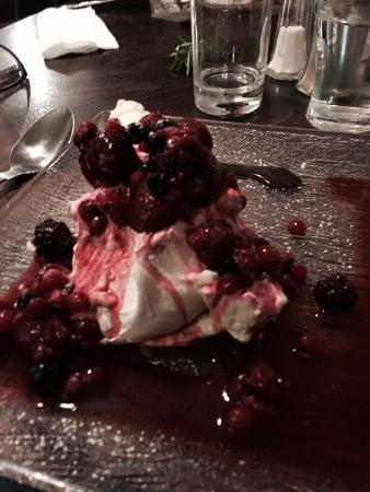 New Park Hotel Bistro : Dessert!