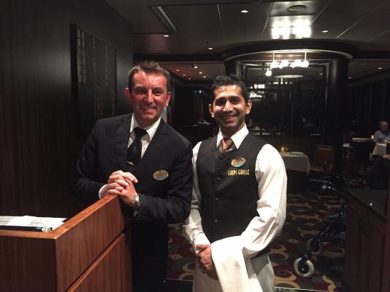 """Chop's Grille: """"CHOPS GRILLE"""" Royal Caribbean Cruise Ship """"GRANDEUR OF THE SEAS"""""""