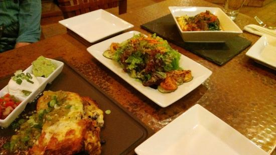 Inn on the Alameda: Delicious dinner at Agoyo Lounge