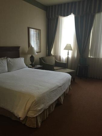 Hilton Garden Inn Indianapolis Downtown : King-size bed