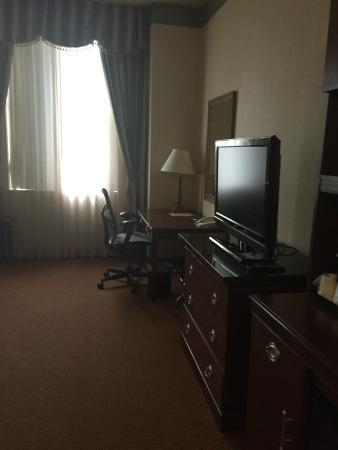 Hilton Garden Inn Indianapolis Downtown : TV/Desk